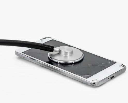 Vetro smartphone rotto