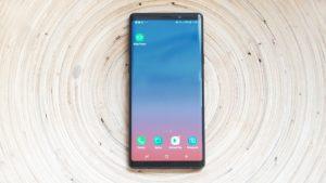 Caratteristiche Samsung Note 9 schermo
