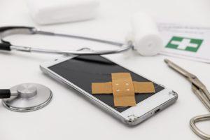 Riparazione del vetro del Samsung S9 e S9 Plus