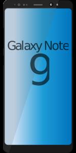 Riparazioni del vetro del Samsung Note 9