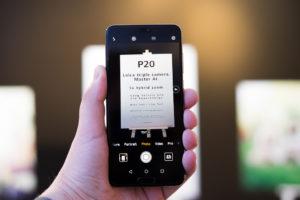 Sostituzione del vetro posteriore dell'Huawei P20