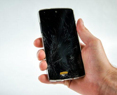 Vetro Samsung S9 e S9 Plus rotto