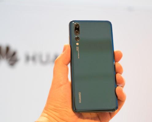 Vetro dell'Huawei P20 rotto