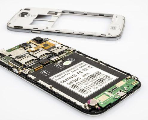 Vetro rotto del Samsung S9 e S9 Plus